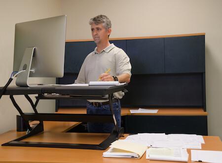 Schreibtischaufsatz