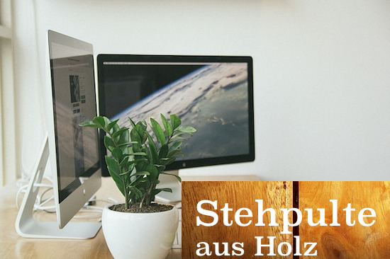 Stehpulte aus Holz
