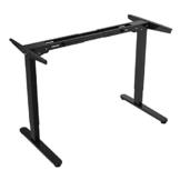 Flexispot E2B Höhenverstellbarer Schreibtisch Elektrisch höhenverstellbares Tischgestell, passt für alle gängigen Tischplatten. Mit Memory-Steuerung und Softstart/-Stop. (Tischgestell-2 Fach Schwarz) - 1