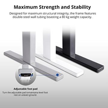 Flexispot H2S Höhenverstellbarer Schreibtisch Kurbelverstellbares Tischgestell, Passt für Alle Gängigen Tischplatten. - 4