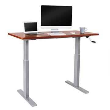 Flexispot H2S Höhenverstellbarer Schreibtisch Kurbelverstellbares Tischgestell, Passt für Alle Gängigen Tischplatten. - 6